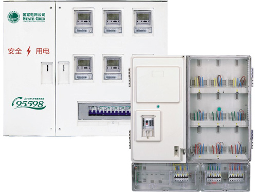 透明防窃电电表箱